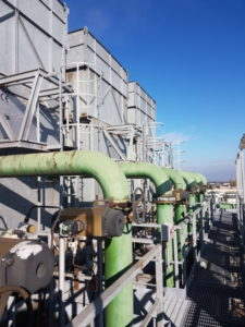 manutenzione di torri evaporative